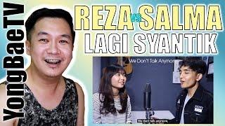 Filipino Reacting to Siti Badriah Lagi Syantik SING OFF Reza Darmawangsa VS Salma YongBaeTV