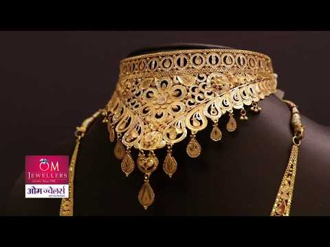 Jewellery Design for maharashtra advertising om jewellers