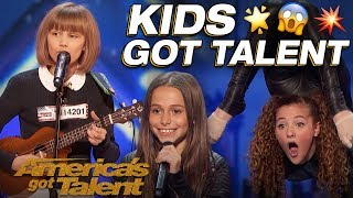 Download lagu Grace VanderWaal, Sofie Dossi, And The Most Talented Kids! Wow! - America's Got Talent