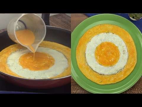 Egg omelette the trick for your unique breakfast