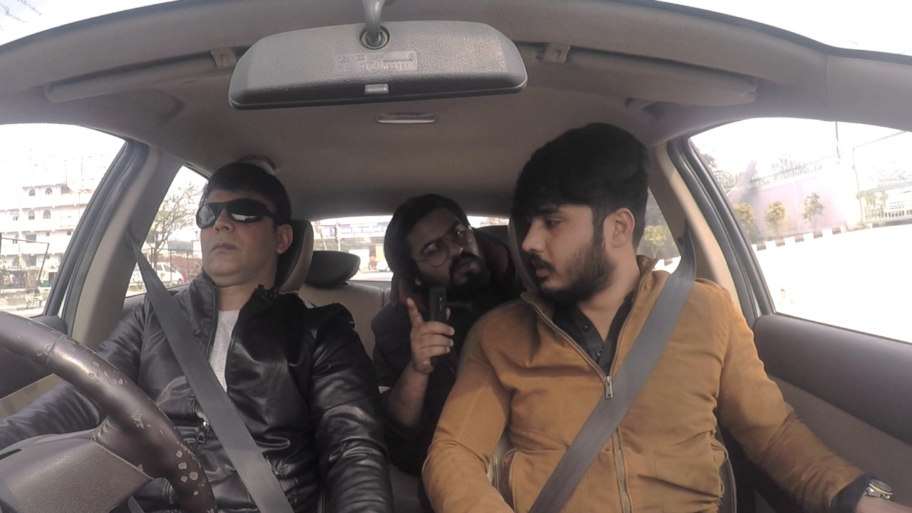Mirchi Murga | Blind man driving | RJ Naved Prank