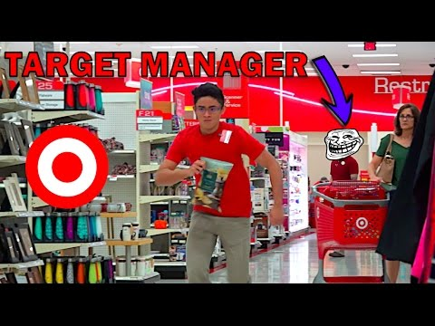 FAKE Target EMPLOYEE PRANK!! (Kicked Out!!)