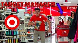 FAKE Target EMPLOYEE PRANK!! (Kicked Out!!)