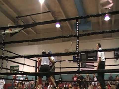 Legend's Gym Mark McAllister Second Fight Part 1