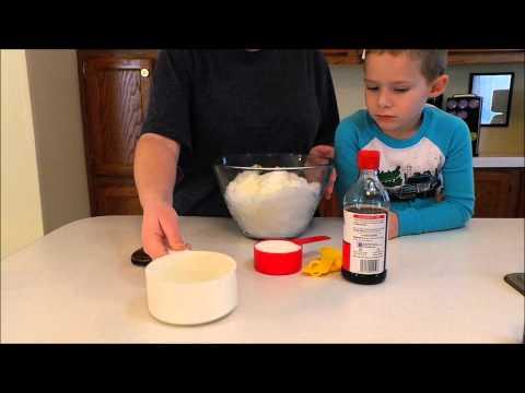 How to Make: Snow Cream