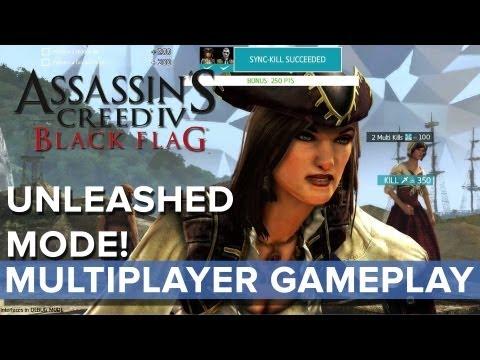 Assassins Creed 4: Black Flag - Unleashed Mode Multiplayer Gameplay - Eurogamer