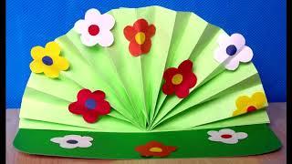 Идеи поделок Весенний букет в детский сад. Поделки в детский сад