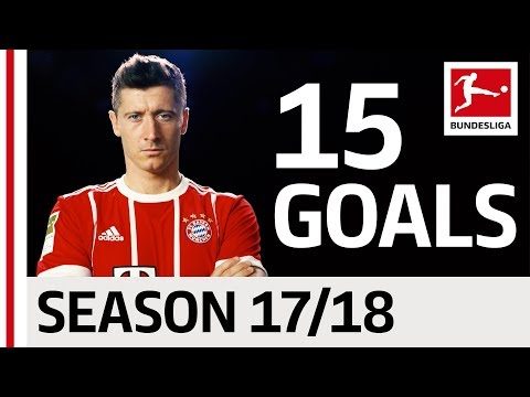 Robert Lewandowski - All Goals so far 2017/18