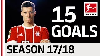 Robert Lewandowski - All Goals so far 2017/18