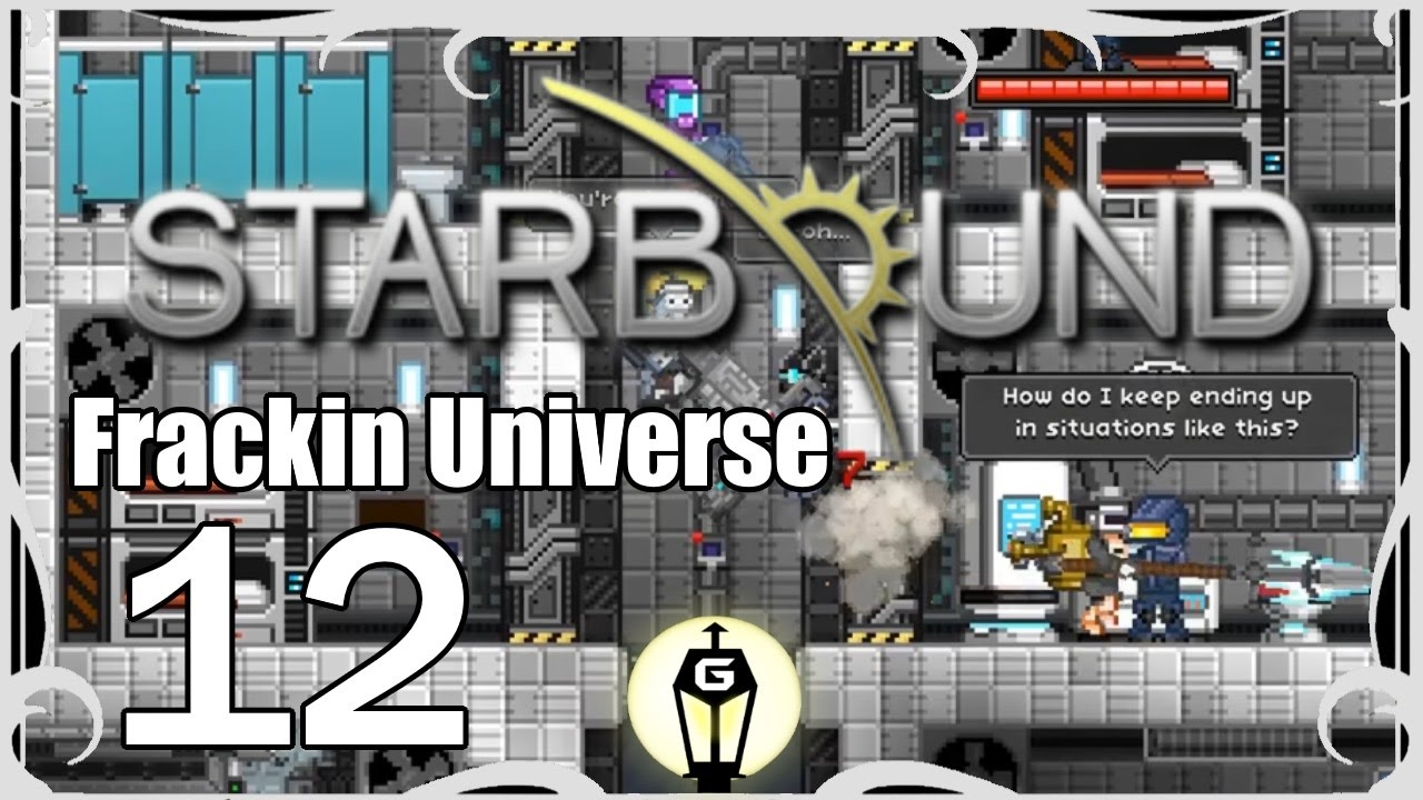 Mobile Science Lab | Let's Play Starbound Frackin Universe Ep 12