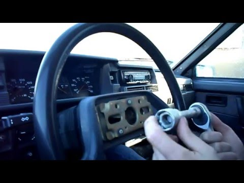 Ваз 2108,2109,2110      как открутить руль?