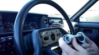 видео Как снять руль на ваз 2110