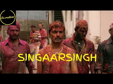 Petta Singaar Singh Theme | Nawazuddin Siddqui |Rajiinikanth | CN CREATIONS