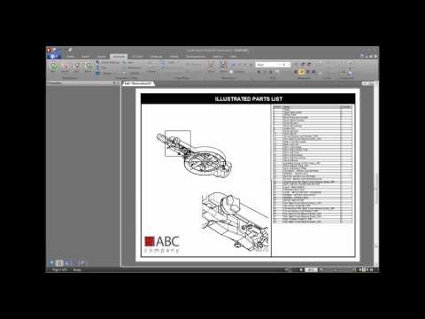Illustrated Parts Lists from 3D Models