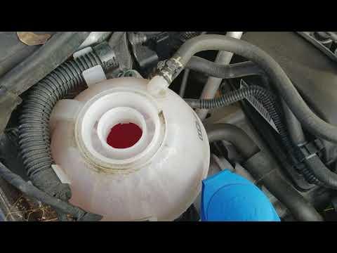How to add coolant/antifreeze 2016 VW Jetta
