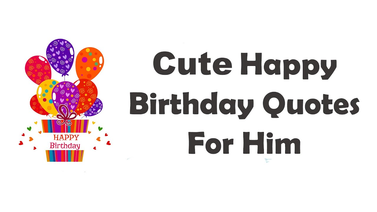 Happy Birthday Quotes For Boyfriend or Husband With Love ...