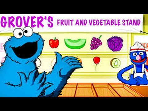 Sesame Street Color Me Hungry - Gameplay Games For Children Games For  Kids - YouTube