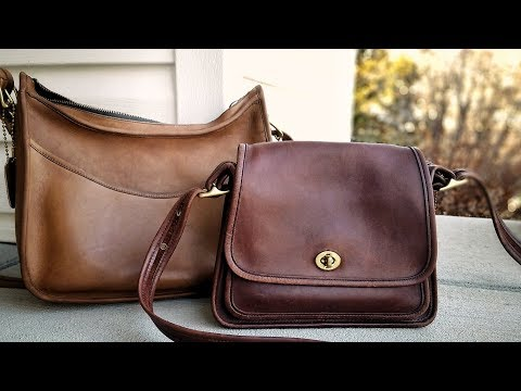 Vintage Coach Purse: How to Condition a Leather Bag - Chamberlain's Leather Milk