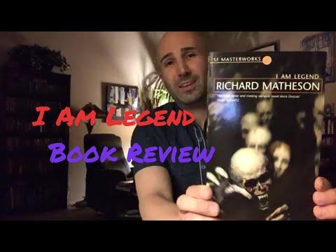 I Am Legend (1954) by Richard Matheson   Paperback Horror Novel Review