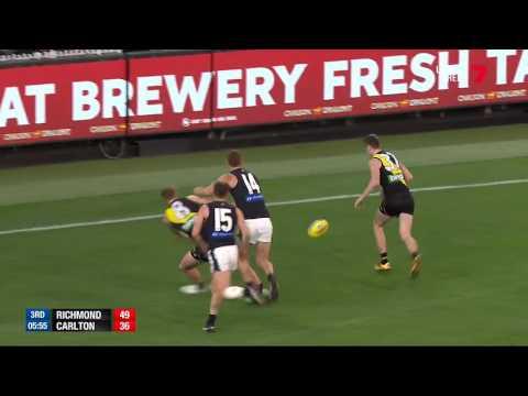Round 14 AFL - Richmond v Carlton Highlights