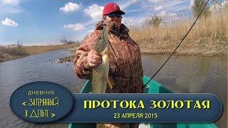 Астраханская рыбалка в апреле. Ловля щуки на воблеры видео.