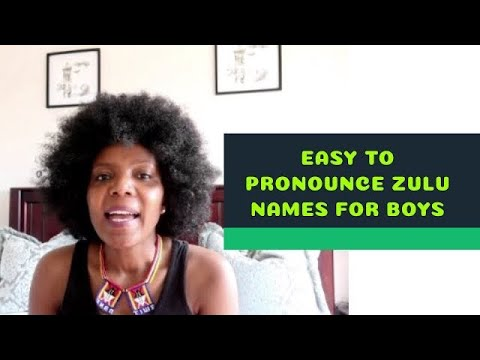Easy To Pronounce African Zulu Names For Boys | Thenjiwe TV | Lockdown 2020 |