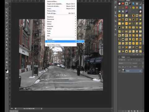 Photoshop Plugin - Flaming pear flood - Español - Tutorial y descarga