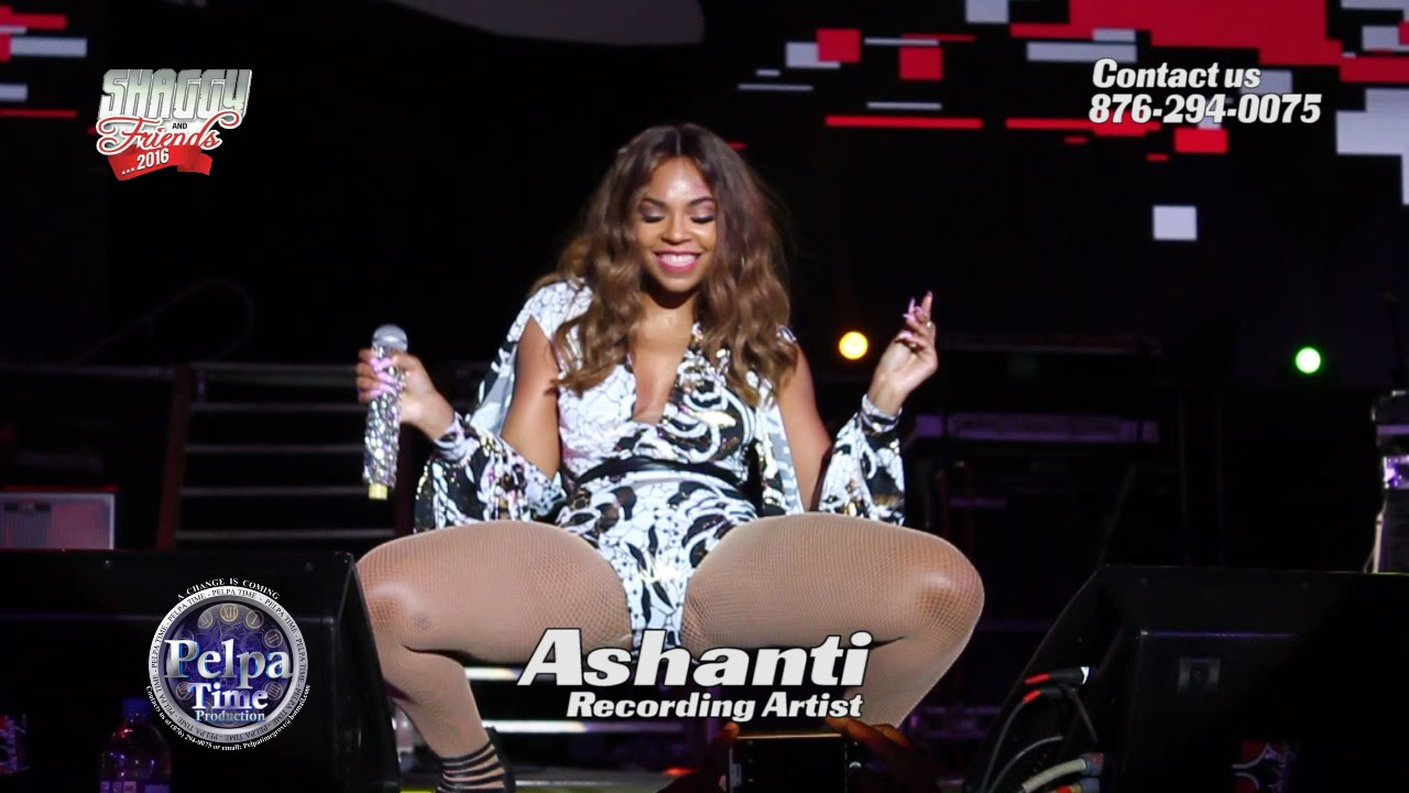 Ashanti At Shaggy And Friends 2016 Show Youtube