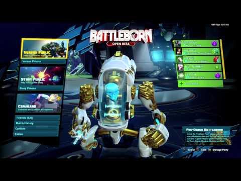 Battleborn Open Beta LIVESTREAM