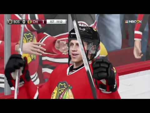 Updated NHL 18 Blackhawks horn vs NHL 17 and Real Life