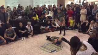 Dancehall International preselection Tomsk - semifinal Inga&Muchacha vs Fraules&Maru ( win)