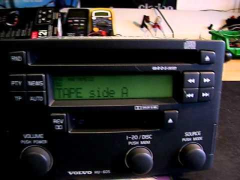 Volvo S40 Car Radio - YouTube