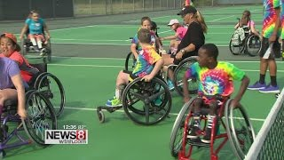 Free sports camp for children with physical disabilities in West Hartford
