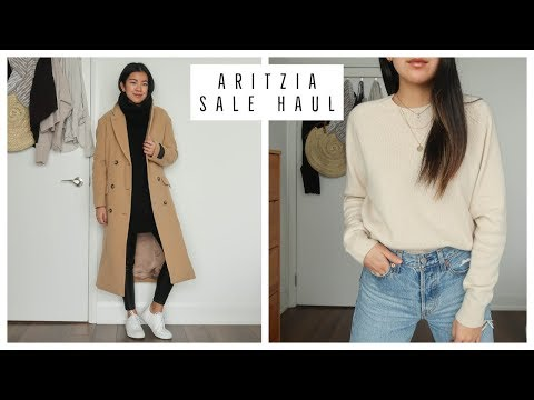 BOXING WEEK CLOTHING HAUL | ARITZIA SALE | TRY ON AND REVIEW