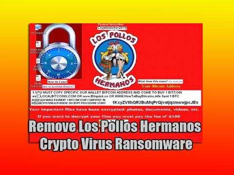 Remove Los Pollos Hermanos Crypto Virus Ransomware