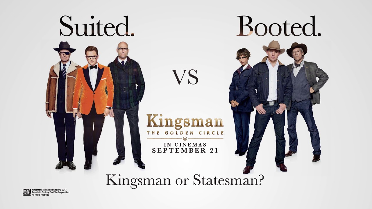 Image result for kingsman the golden circle poster