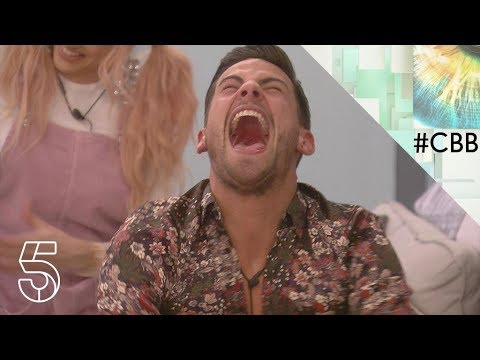 Courtney obliges to waxing Andrew's bottom | Day 14 |Celebrity Big Brother 2018