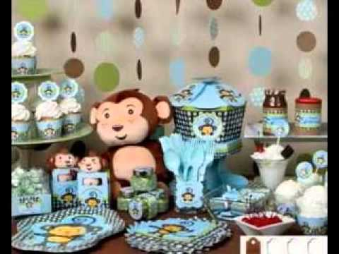 Baby Shower Monkey Decor Ideas Youtube