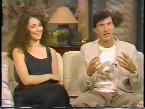 Madeleine Stowe and John Badham  on GMA 1987