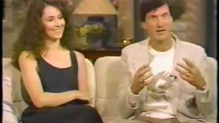 Madeleine Stowe and John Badham interview on GMA 1987