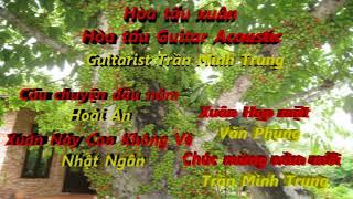 Nhạc xuân hòa tấu- Hòa tấu Guitar Acoustic- Trần Minh Trung (Đánh thức- nuôi dưỡng tâm hồn!)