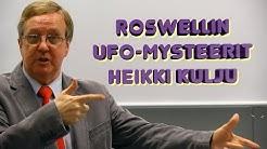 Heikki Kulju luennolla: Roswellin ufojen mysteeri