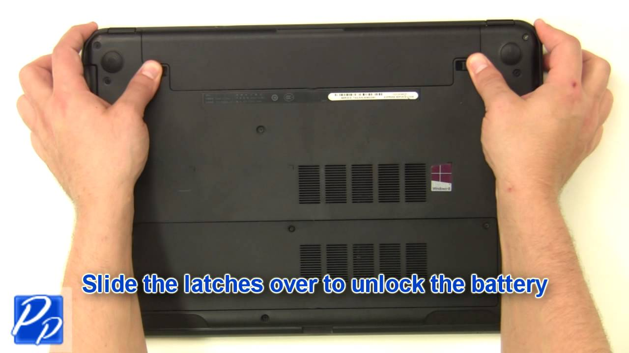 Dell Inspiron 15 (3521  5521) Battery Replacement Video Tutorial  YouTube