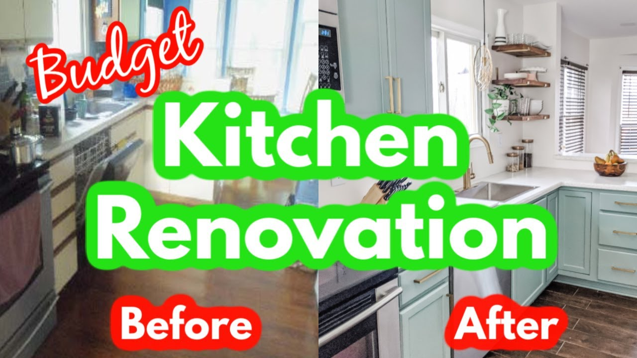 Before And After My Budget Kitchen Remodel Toolbox Divas