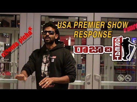Raja The Great USA Premier Show Response
