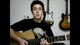 Pieces Sum 41 - Como tocar - How to play - FermiGuitarra