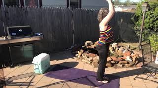 A Little Outdoors Yoga