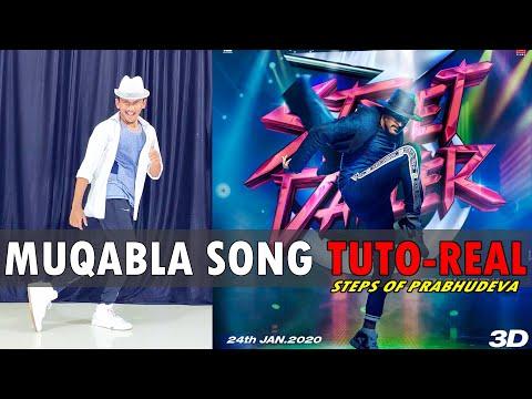 Muqabla Song | Street Dancer 3D | Prabhudeva Steps TUTORIAL | Nishant Nair