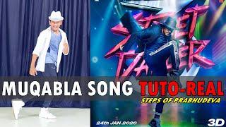 Muqabla Song   Street Dancer 3D   Prabhudeva Steps TUTORIAL   Nishant Nair
