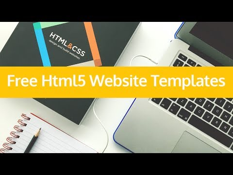 Free HTML5 Website  Templates  for Downloads 2017